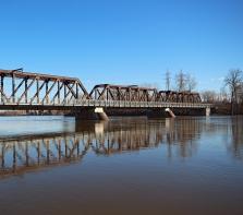 Pont Perry de l\'île Perry dit aussi l\' \'île aux fesses.