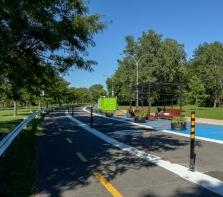 L\'avenue piétonne Park Stanley, Ahuntsic